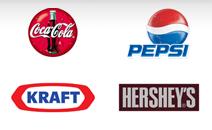 Coke, Pepsi, Kraft & Hershey's